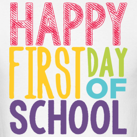 Image result for happy first day of school